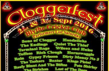 Cloggerfest poster
