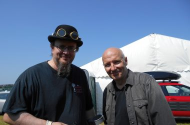 Me and Midge Ure