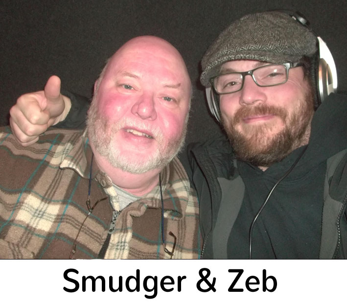 Smudger and Zeb for website copy