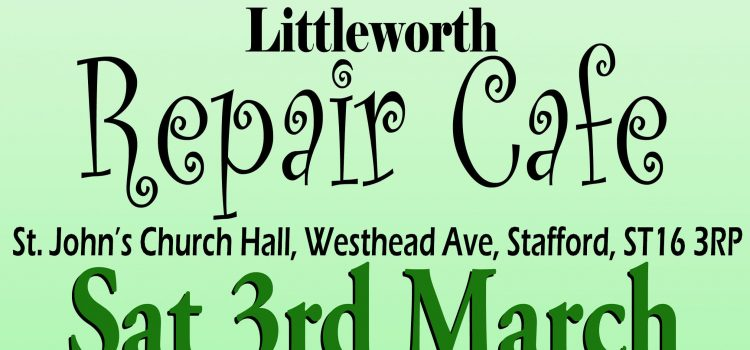 Repair Cafe Poster - version 2a banner