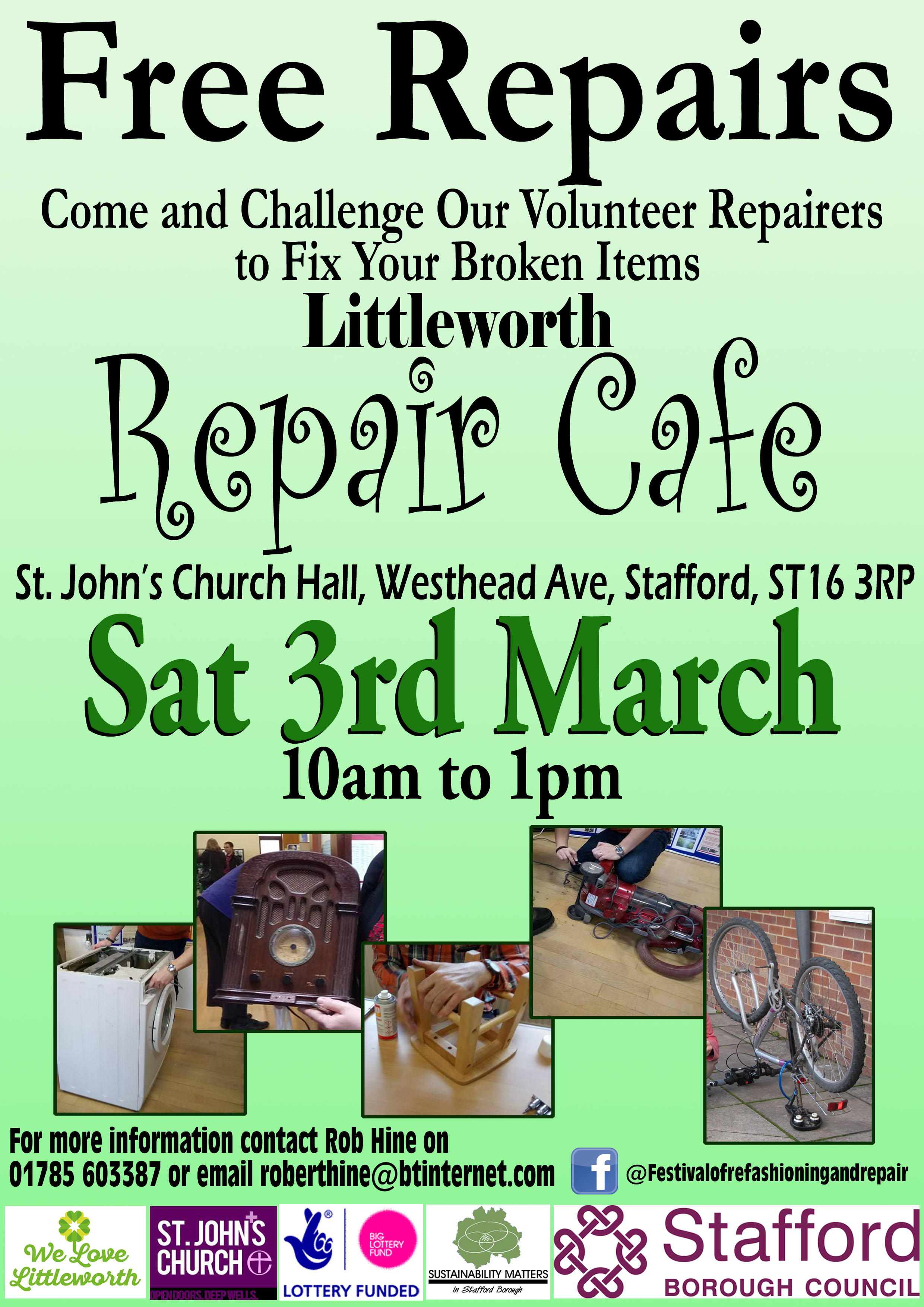 Repair Cafe Poster - version 2a copy