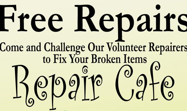 Repair Cafe – Autumn 2018