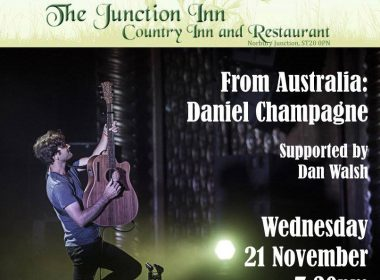 Daniel Champagne Coming to Norbury Junction – 21st Nov 2018